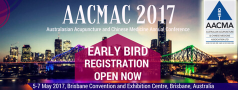AACMAC 2017 Early Bird Registration